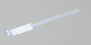 BRACELET D'IDENTIFICATION PVC SANS DEHP ADULTE POUR INSCRIPTION DIRECTE
