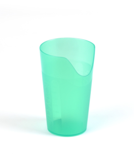 CUP WITH A PATIENT FETH ALIMENTATION