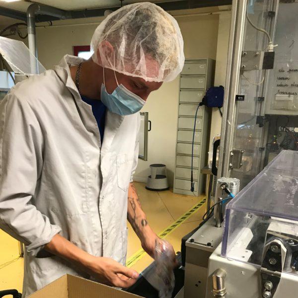 Mickael Bremond, Opérateur fabrication automatique